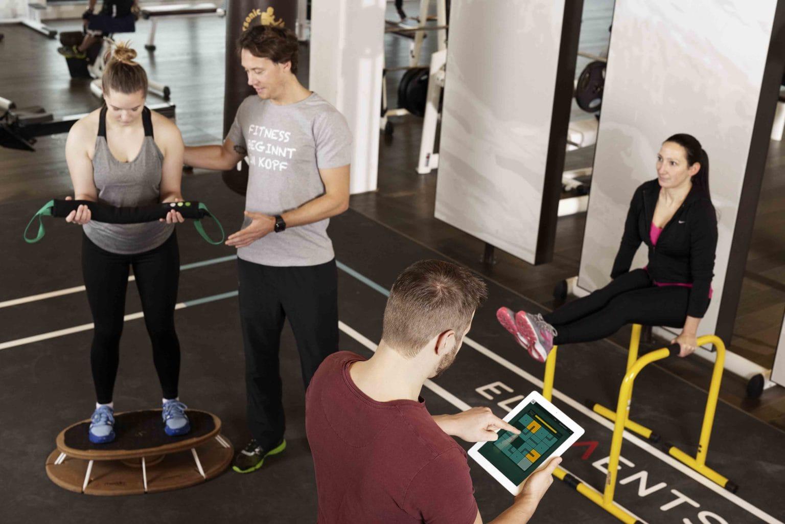 ELEMENTS Fitness und Wellness_mei-do_ipad