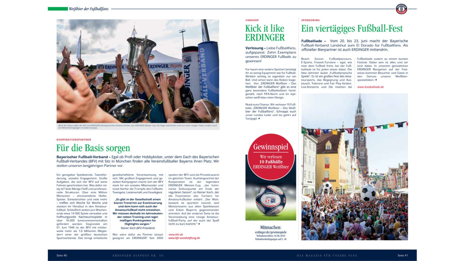 kiecom_ERDINGER Fanpost_Weißbier der Fußballfans