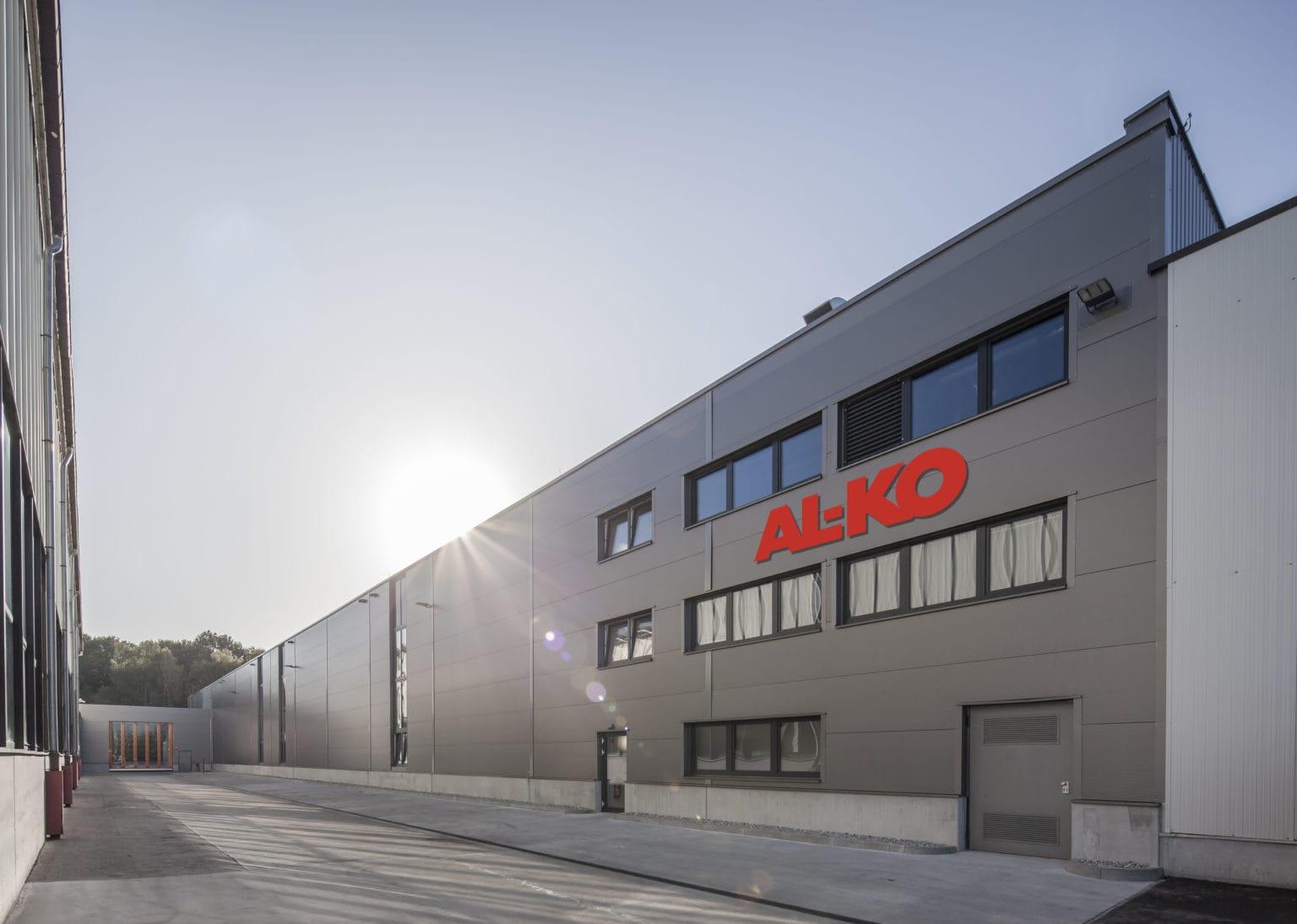 AL-KO_Lufttechnik Eroeffnung Produktionshalle_Außenansicht