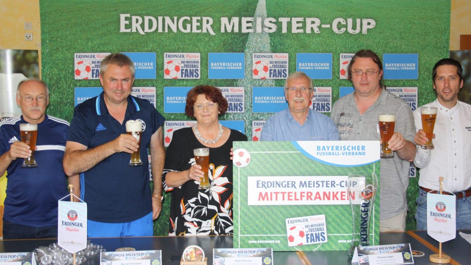 ERDINGER Meister-Cup_Pressegespräch SV Schwaig